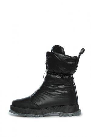 Ботинки дутики Cesare Gaspari. Цвет: черный