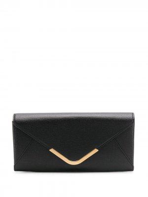Классический кошелек Postbox Anya Hindmarch. Цвет: черный