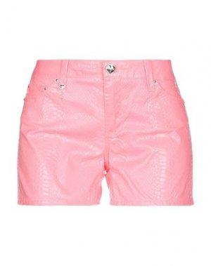 Повседневные шорты LEROCK. Цвет: розовый