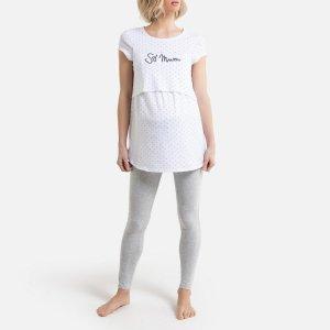 Пижама La Redoute. Цвет: белый