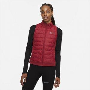 Женский беговой жилет с синтетическим наполнителем rma-FIT - Красный Nike