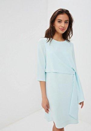 Платье EMI. Цвет: бирюзовый