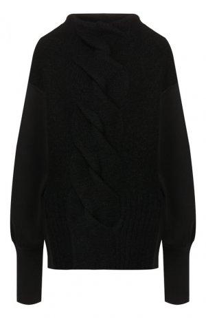 Шерстяной свитер Roque. Цвет: чёрный