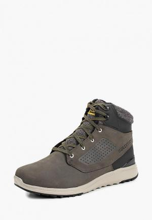 Ботинки Salomon UTILITY WINTER CS WP. Цвет: серый