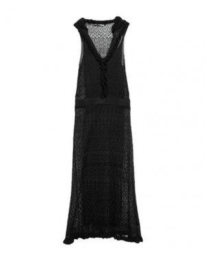 Длинное платье ALTUZARRA. Цвет: черный