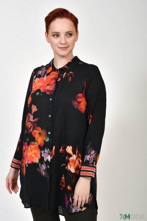 Блузa Doris Streich. Цвет: разноцветный
