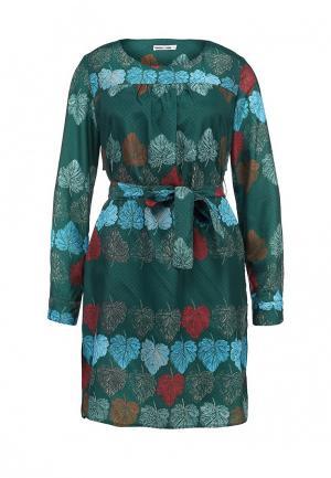 Платье Ginger+Soul. Цвет: зеленый