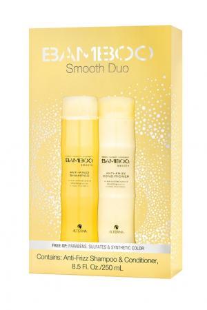 Набор Сияние и блеск Bamboo Smooth Holiday Duo, 250+250 ml Alterna. Цвет: multicolor