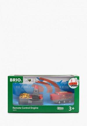 Игрушка Brio Паровоз на д/у с пультом. Цвет: разноцветный