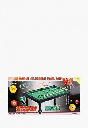Игра настольная Abtoys Бильярд, 49x79x24 см. Цвет: разноцветный
