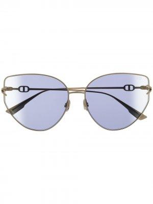 Солнцезащитные очки Dior Gipsy Eyewear. Цвет: золотистый