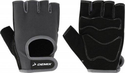 Перчатки для фитнеса , размер M Demix. Цвет: серый