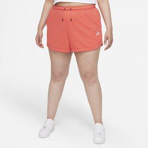 Женские шорты Sportswear (большие размеры) - Оранжевый Nike