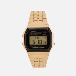 Наручные часы Collection A-159WGEA-1E CASIO. Цвет: золотой