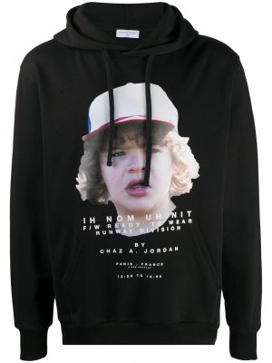 Logo print hoodie Ih Nom Uh Nit. Цвет: черный