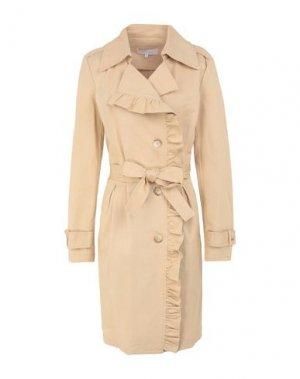 Легкое пальто KORALLINE. Цвет: бежевый