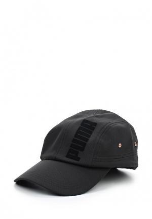 Бейсболка PUMA Velvet rope cap. Цвет: черный