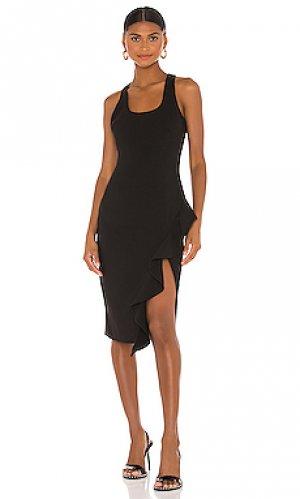 Платье миди rosella LIKELY. Цвет: черный