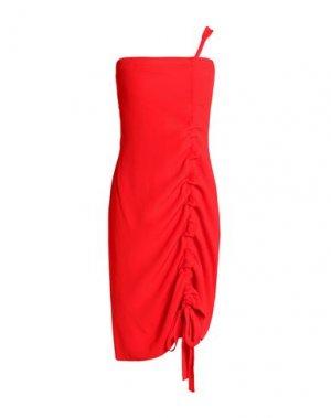Короткое платье ALEXIS. Цвет: красный