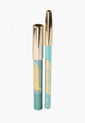Набор для макияжа глаз Chatte Noire Карандаш + Карандаш-тени №62, 3,21. Цвет: бирюзовый