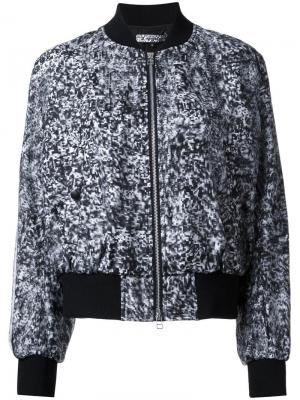 Куртка-бомбер Snow Noise Anrealage. Цвет: серый