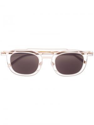 Солнцезащитные очки в квадратной оправе стиле авиатор Thierry Lasry
