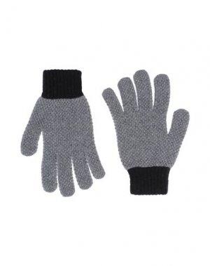 Перчатки PS PAUL SMITH. Цвет: серый