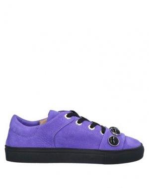 Кеды и кроссовки ALBERTO FERMANI. Цвет: фиолетовый
