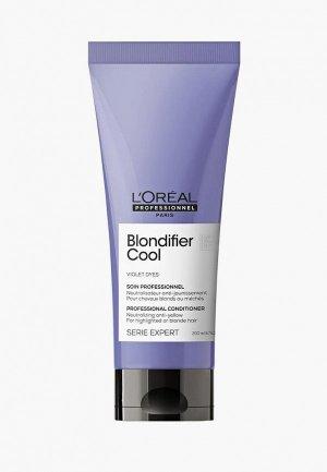 Кондиционер для волос LOreal Professionnel L'Oreal Serie Expert Blondifier Cool нейтрализации желтизны холодных оттенков блонд, 200 мл. Цвет: прозрачный
