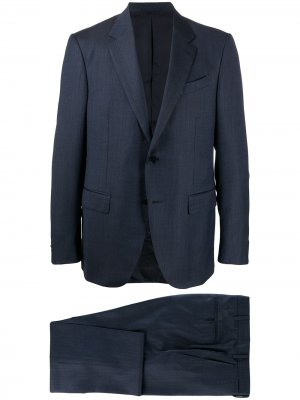 Single-breasted suit Ermenegildo Zegna. Цвет: синий