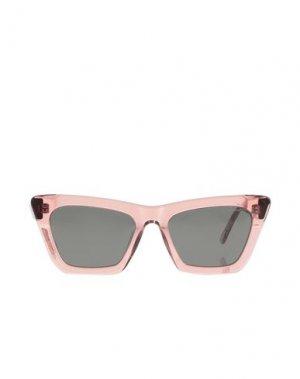 Солнечные очки KOMONO. Цвет: розовый