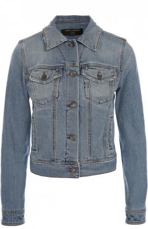 Джинсовая куртка Dolce & Gabbana. Цвет: голубой