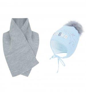 Комплект шапка/шарф Alaska Ewa/Redar