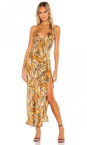 Платье-комбинация danielle Indah. Цвет: цвет загара