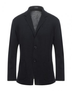 Пиджак ISSEY MIYAKE MEN. Цвет: темно-синий