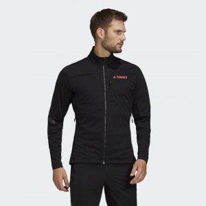 Куртка для беговых лыж Terrex Agravic adidas. Цвет: черный