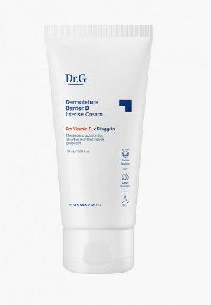Крем для лица Dr.G интенсивный увлажняющий с провитамином D Dermoisture Barrier.D Intense Cream, 100 мл. Цвет: белый