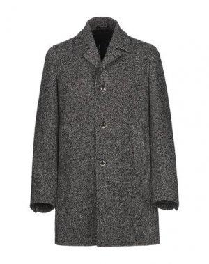 Пальто ANGELO NARDELLI. Цвет: стальной серый