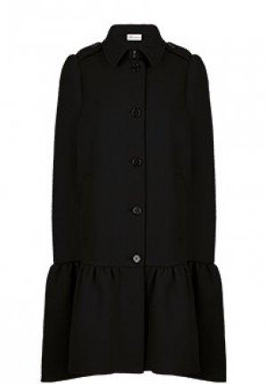Пальто VALENTINO RED. Цвет: черный