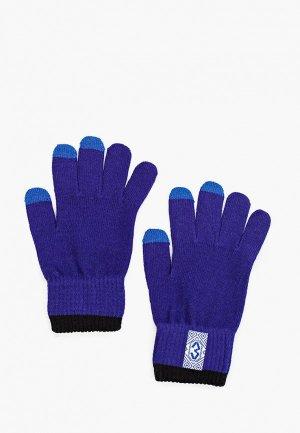 Перчатки Запорожец Heritage. Цвет: фиолетовый