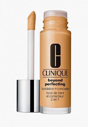 Тональный крем Clinique Beyond Perfecting Makeup, CN 02 Breeze. Цвет: бежевый