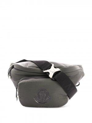 Поясная сумка Durance Moncler. Цвет: серый