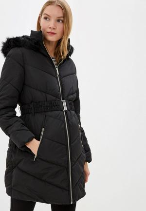 Куртка утепленная Dorothy Perkins Maternity. Цвет: черный