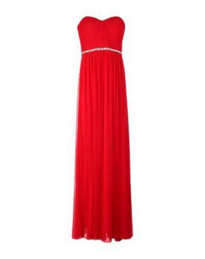 Длинное платье MIKAEL. Цвет: красный