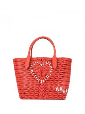 Плетеная сумка-тоут Anya Hindmarch