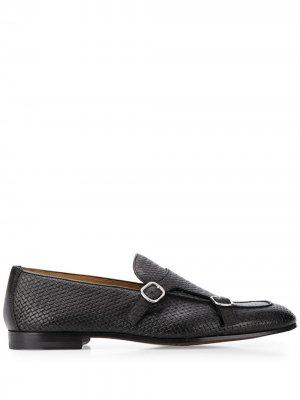 Doucals плетеные туфли монки Doucal's. Цвет: черный