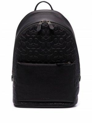 Рюкзак Metropolitan на молнии Coach. Цвет: черный