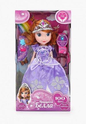Игрушка интерактивная Карапуз Принцесса Белла, 25 см. Цвет: разноцветный