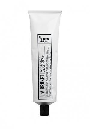 Маска для лица La Bruket 155 Clay mask Глиняная 100 мл. Цвет: прозрачный