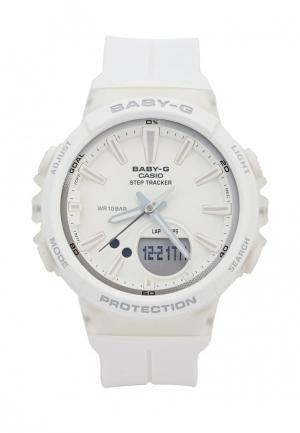 Часы Casio Baby-G BGS-100-7A1. Цвет: белый